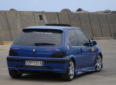 peugeot 106 bodykit pictures : car club photos