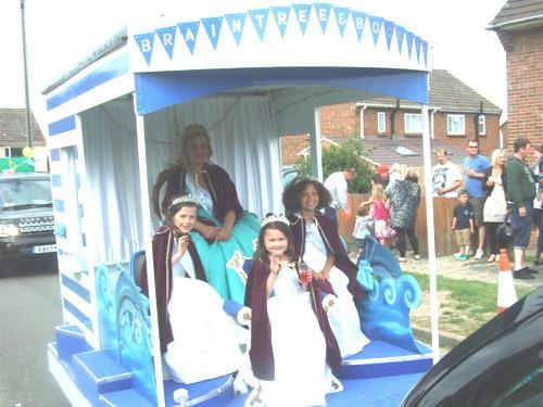 Carnival Queen's Dress